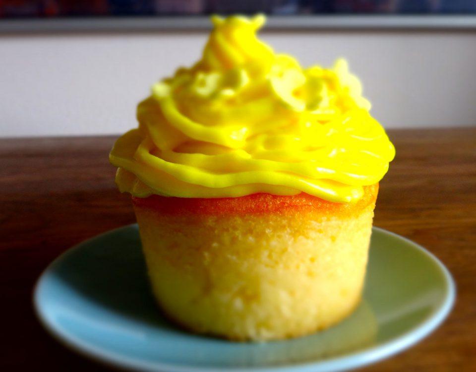 Lemoncurd Cupcakes
