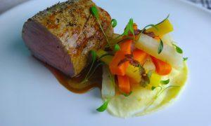 filet mignon de veau & légumes